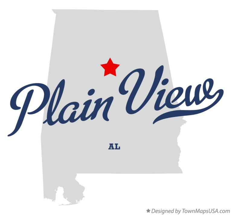 Map of Plain View Alabama AL