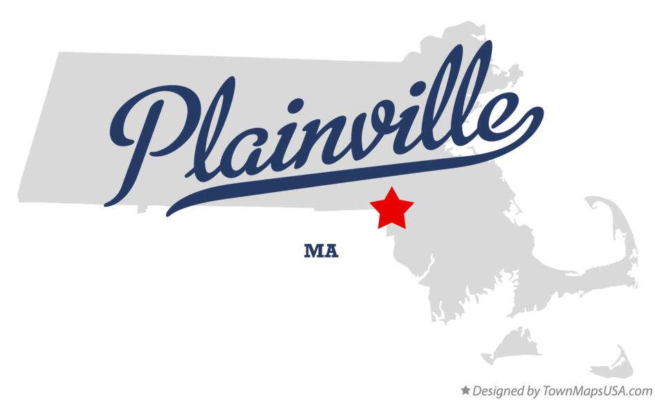 Map of Plainville, Norfolk County, MA, Machusetts Map Of Norfolk County Ma Towns on map of rockingham county nh towns, map of middlesex county ma towns, map of cape cod ma towns, map of litchfield county ct towns,