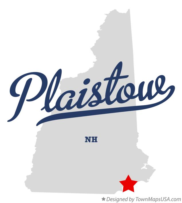 Map of Plaistow New Hampshire NH