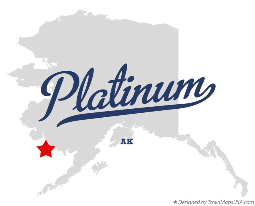 Map of Platinum Alaska AK