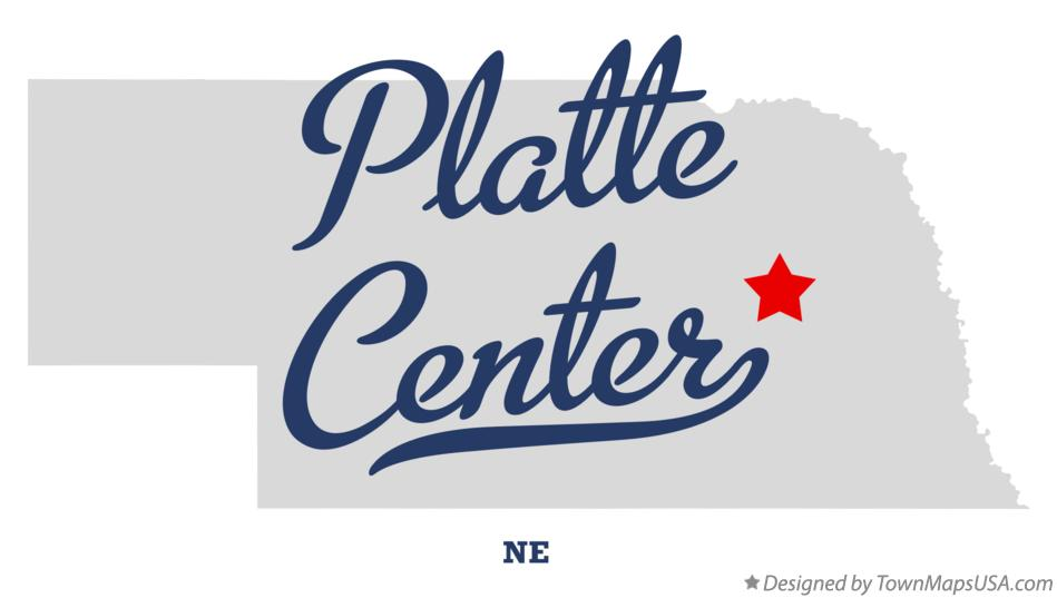 Map of Platte Center Nebraska NE