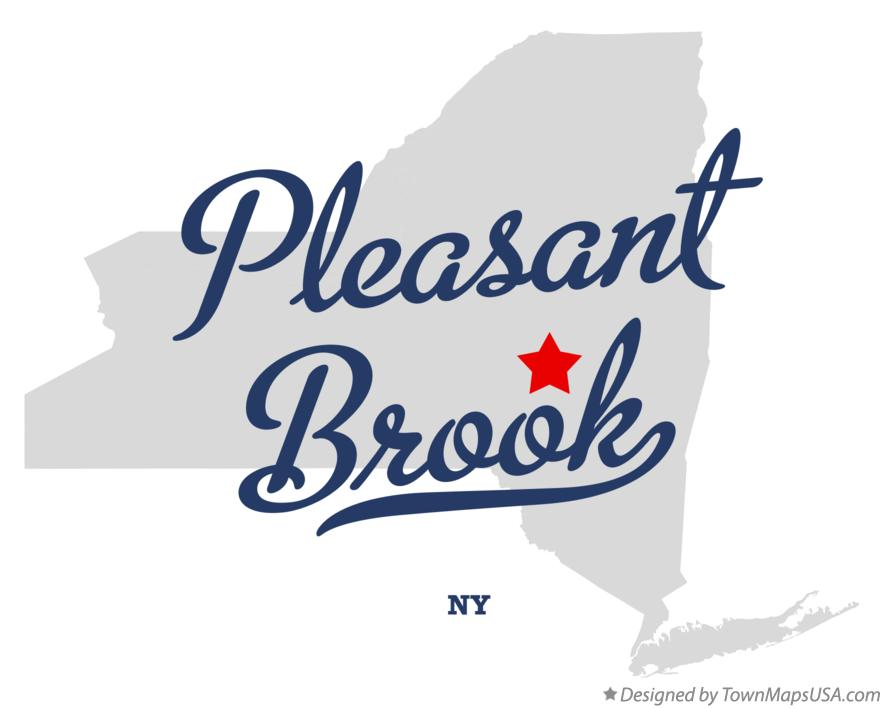 Map of Pleasant Brook New York NY