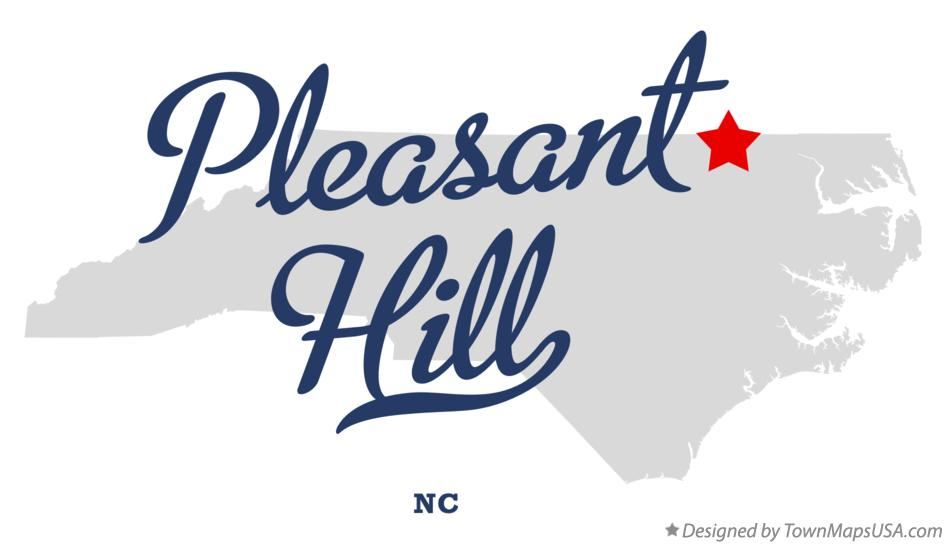 Map of Pleasant Hill North Carolina NC