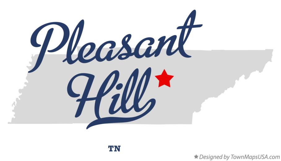 Map of Pleasant Hill Tennessee TN
