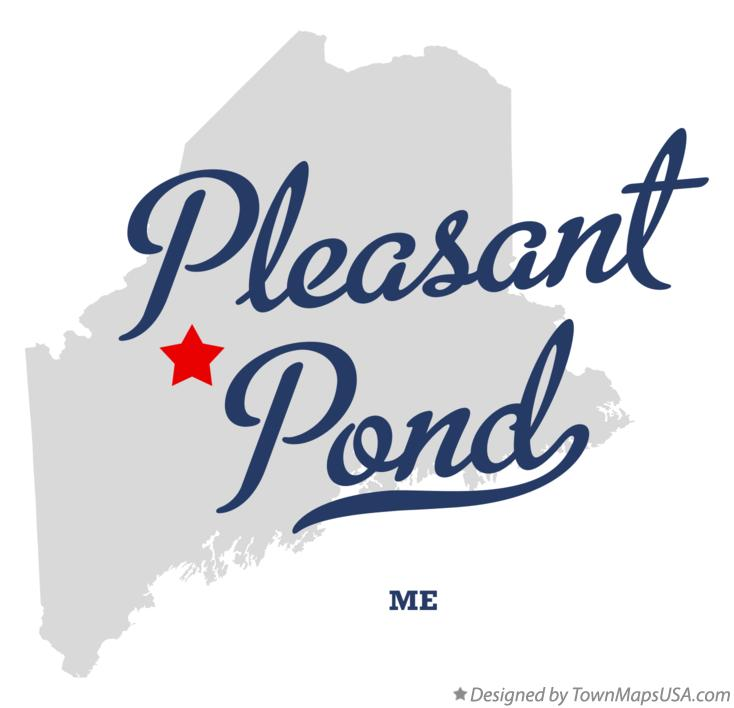 Map of Pleasant Pond Maine ME