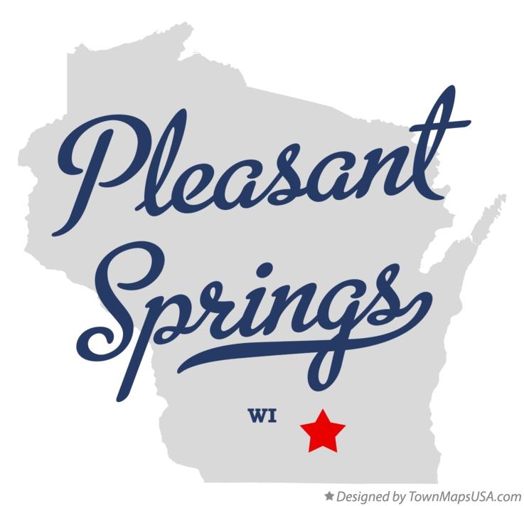 Map of Pleasant Springs Wisconsin WI
