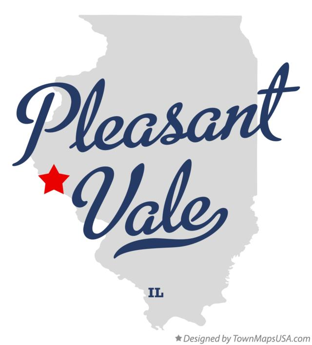 Map of Pleasant Vale Illinois IL