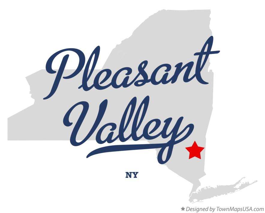 Map of Pleasant Valley New York NY