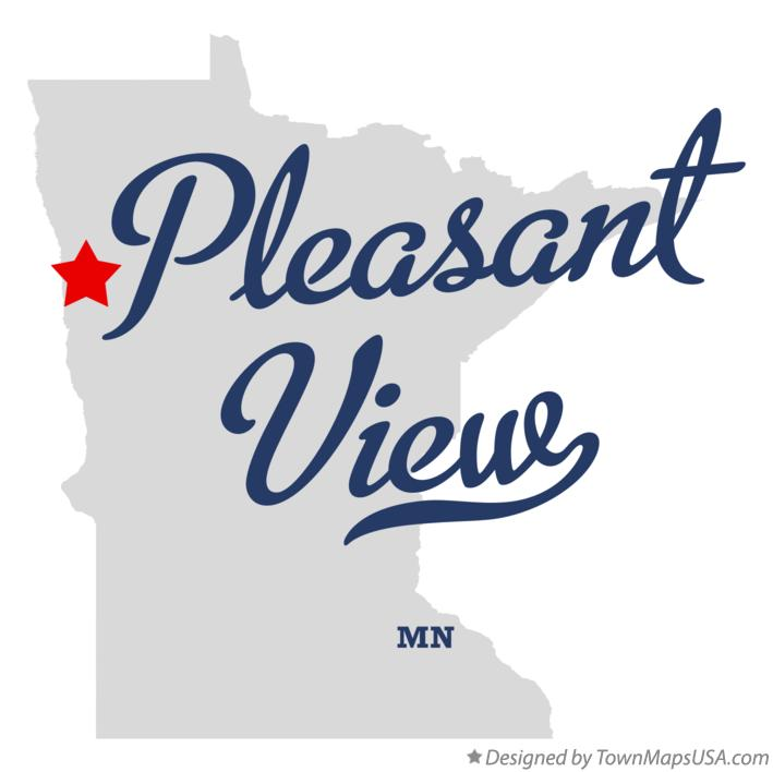 Map of Pleasant View Minnesota MN