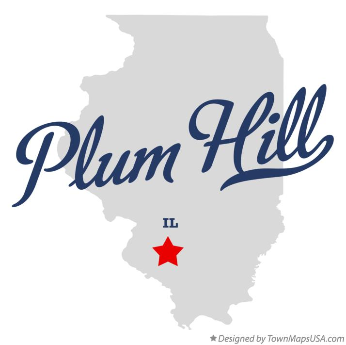 Map of Plum Hill Illinois IL