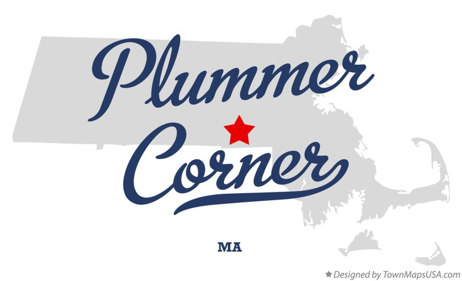 Map of Plummer Corner Massachusetts MA