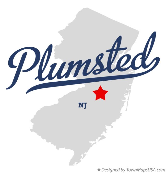 Map of Plumsted New Jersey NJ
