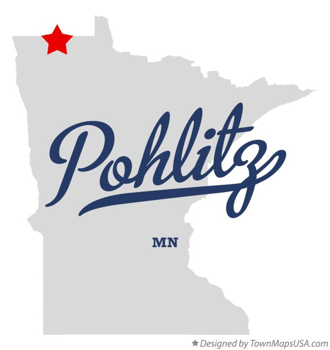 Map of Pohlitz Minnesota MN