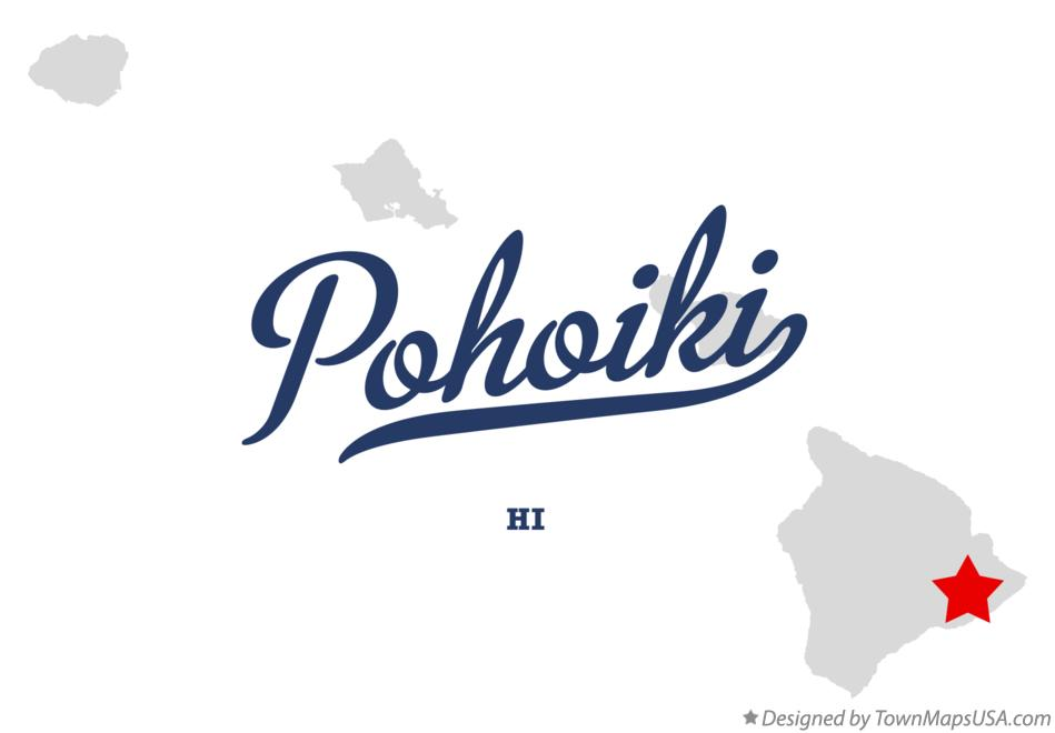 Map of Pohoiki Hawaii HI