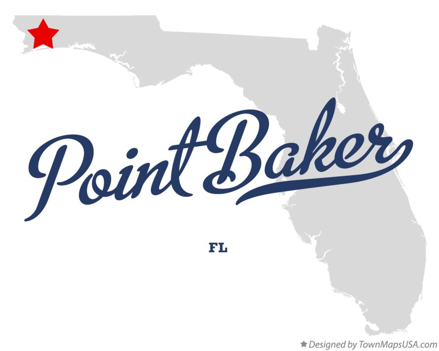 Map of Point Baker Florida FL