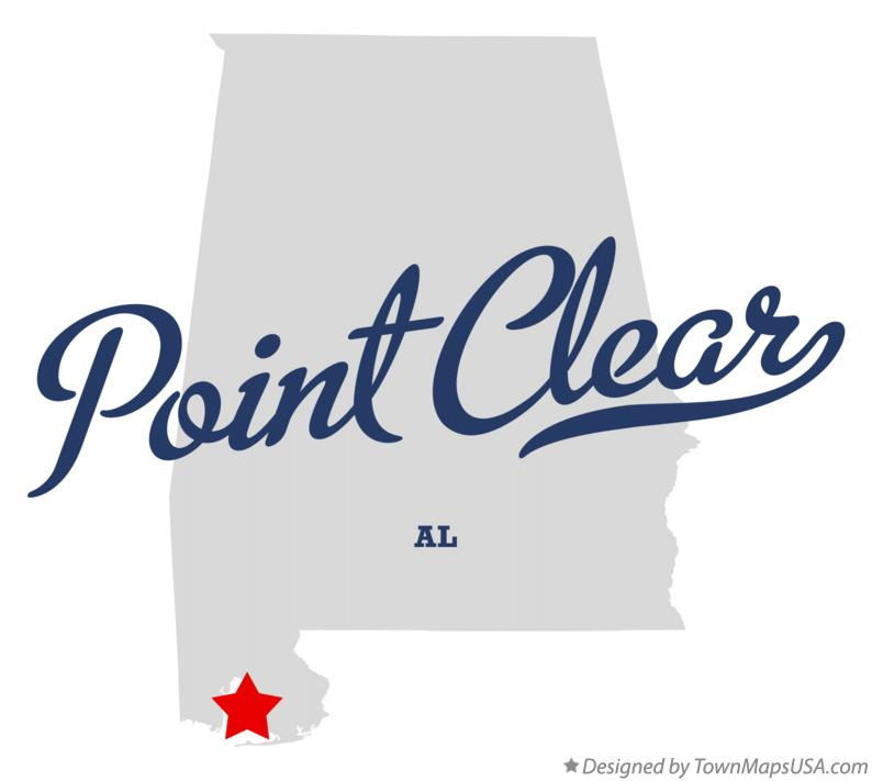 Map of Point Clear Alabama AL