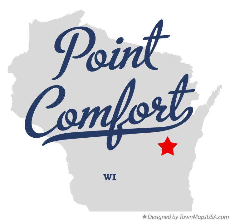 Map of Point Comfort Wisconsin WI
