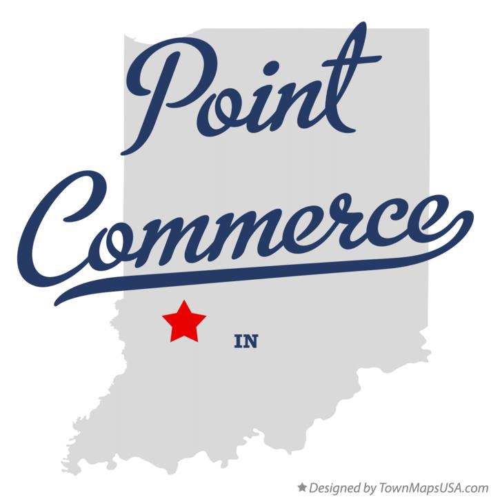 Map of Point Commerce Indiana IN