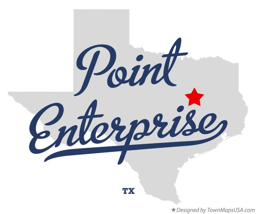Map of Point Enterprise Texas TX