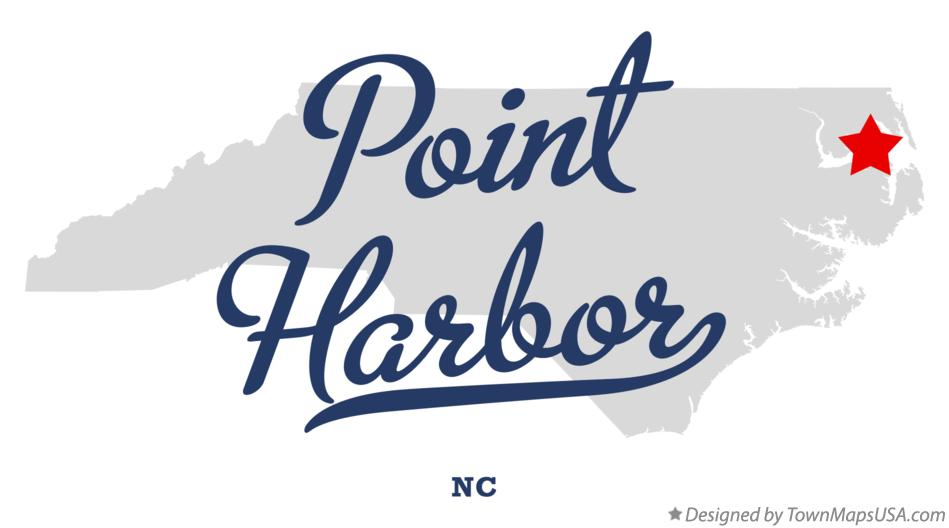 Map of Point Harbor North Carolina NC