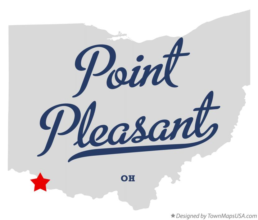 Map of Point Pleasant Ohio OH