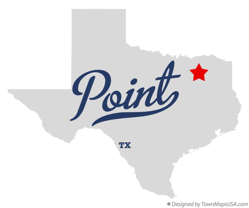 Map of Point Texas TX