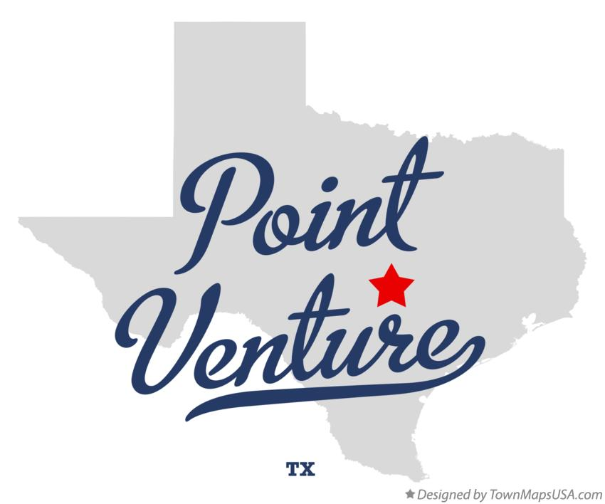 Map of Point Venture Texas TX