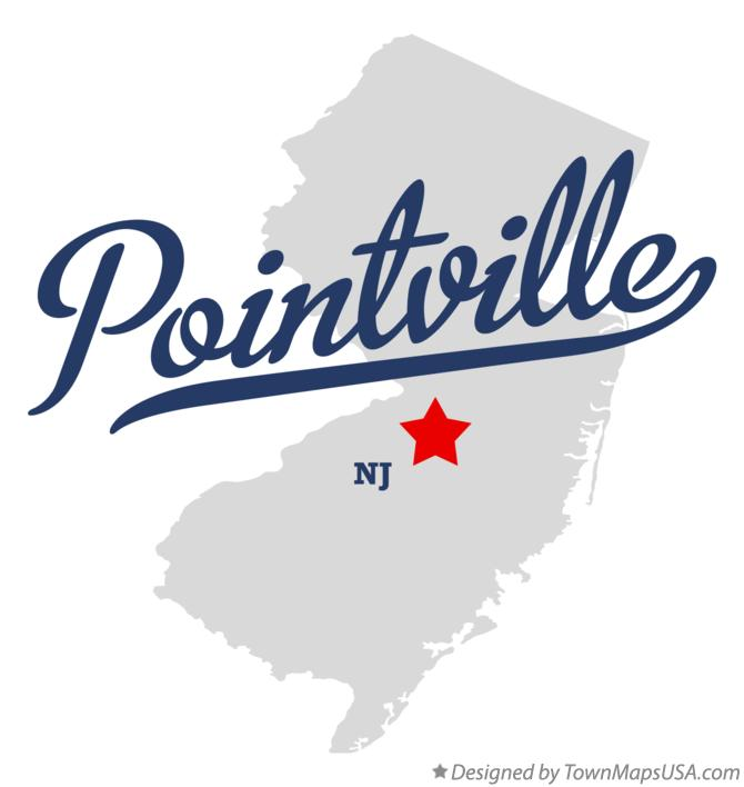 Map of Pointville New Jersey NJ