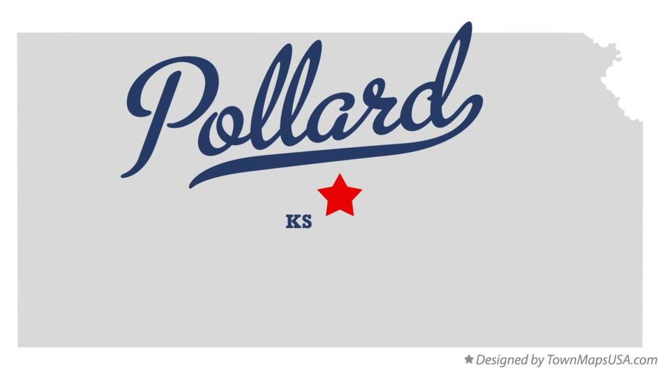 Map of Pollard Kansas KS