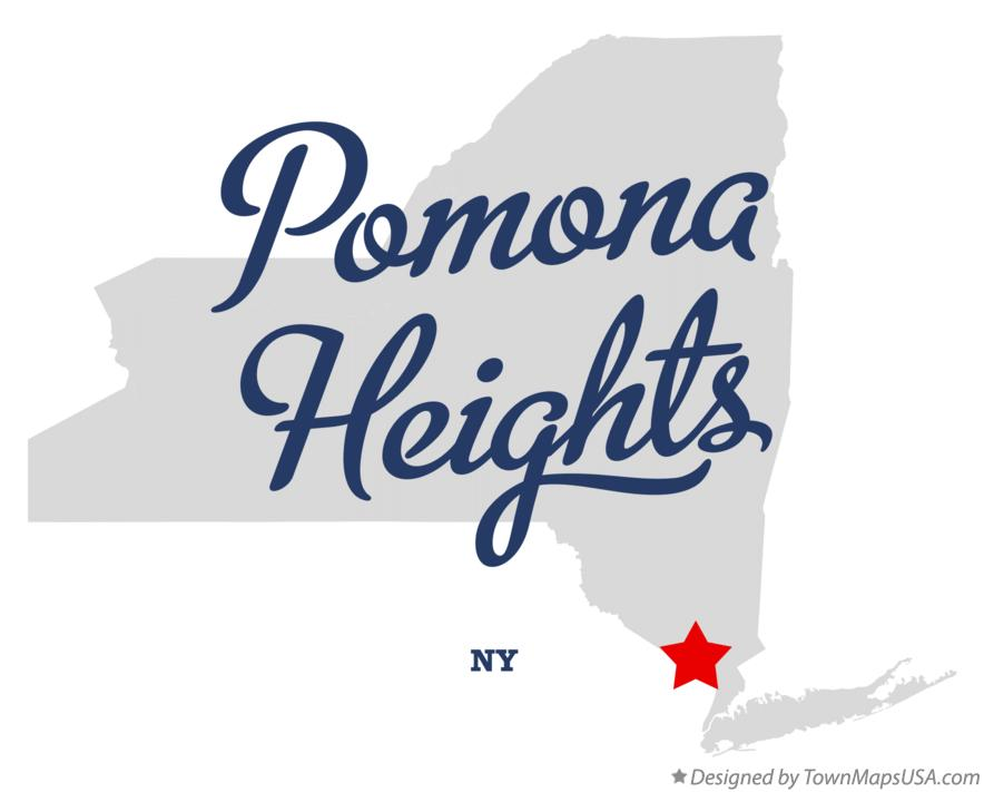 Map of Pomona Heights New York NY