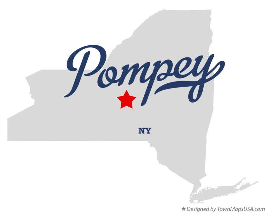 Map of Pompey New York NY