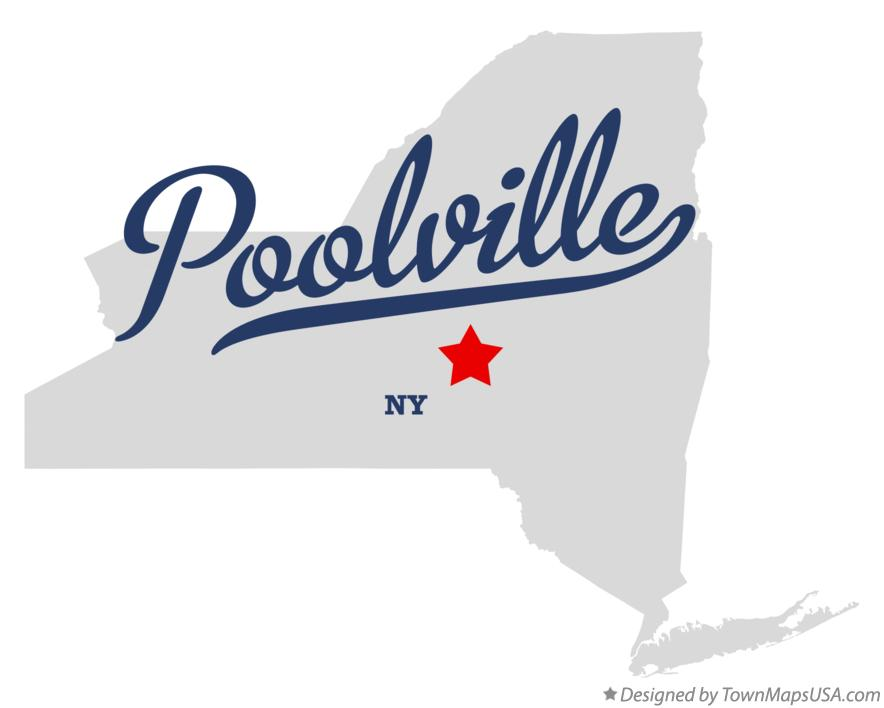 Map of Poolville New York NY