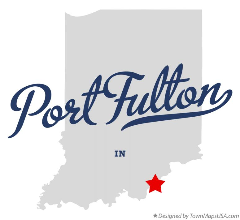 Map of Port Fulton Indiana IN