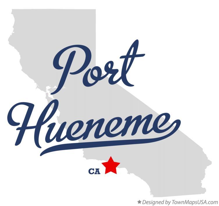 Map Of Port Hueneme Ca California