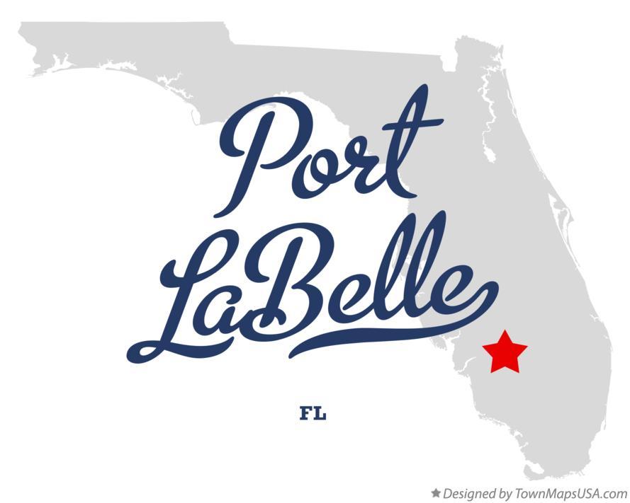 Labelle Florida Map.Map Of Port Labelle Fl Florida