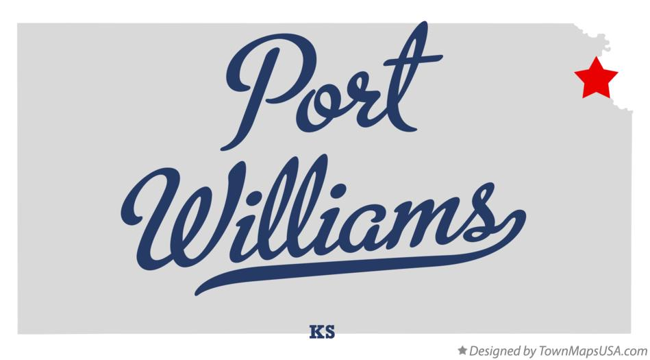 Map of Port Williams Kansas KS