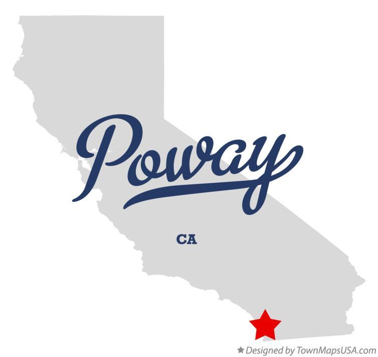 Poway California Map.Map Of Poway Ca California