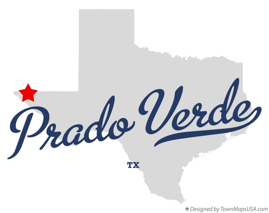 Map of Prado Verde Texas TX