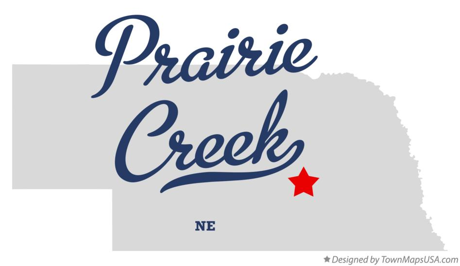 Map of Prairie Creek Nebraska NE