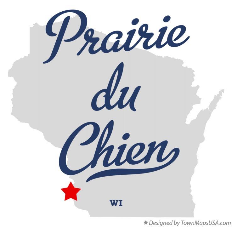 Prairies Map Map of Prairie du Chien