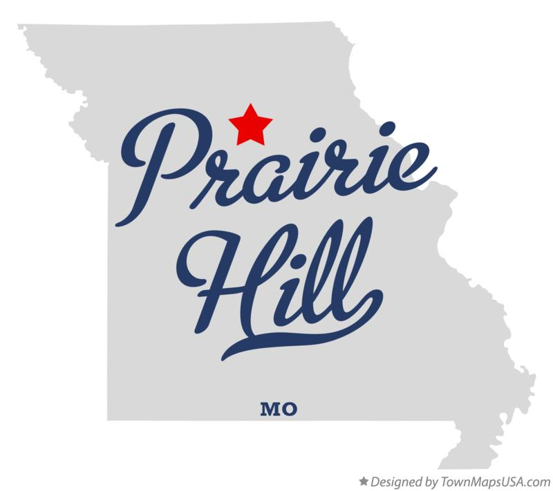 Map of Prairie Hill Missouri MO