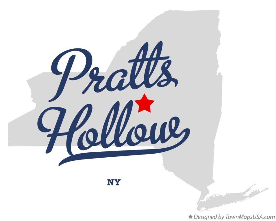 Map of Pratts Hollow New York NY