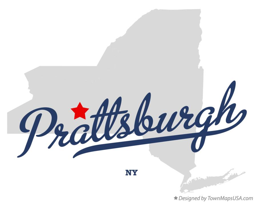 Map of Prattsburgh New York NY