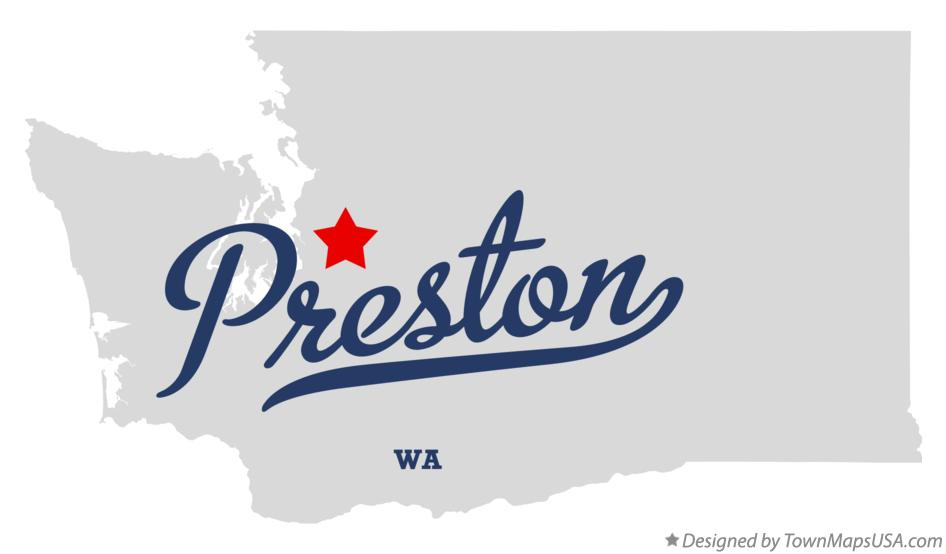 Map of Preston Washington WA