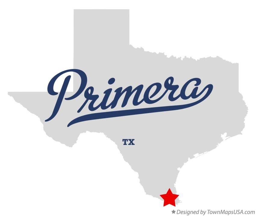 Map of Primera Texas TX