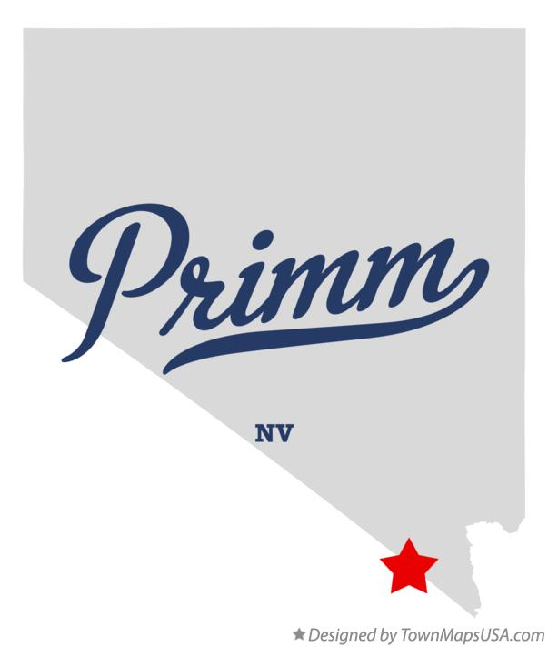 Map of Primm Nevada NV