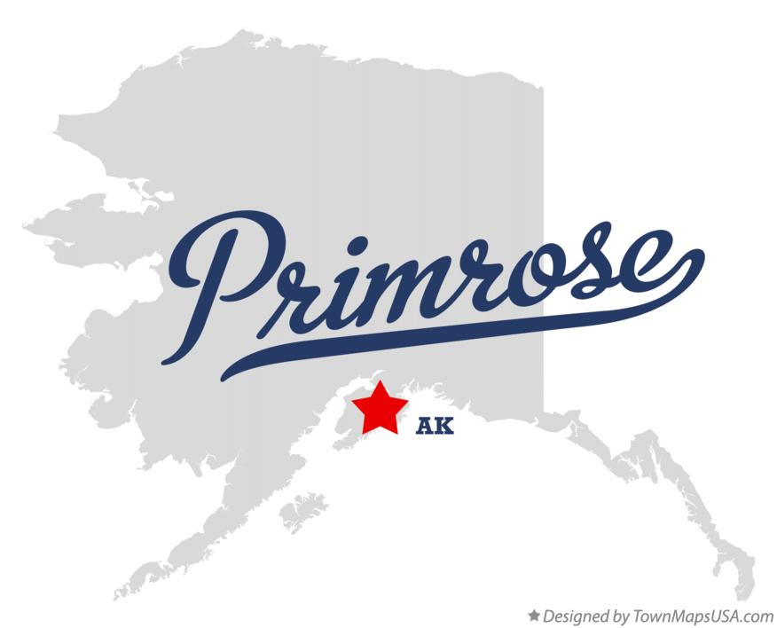 Map of Primrose Alaska AK