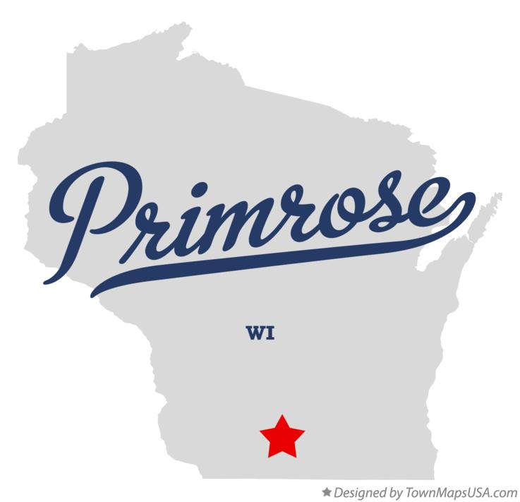 Map of Primrose Wisconsin WI