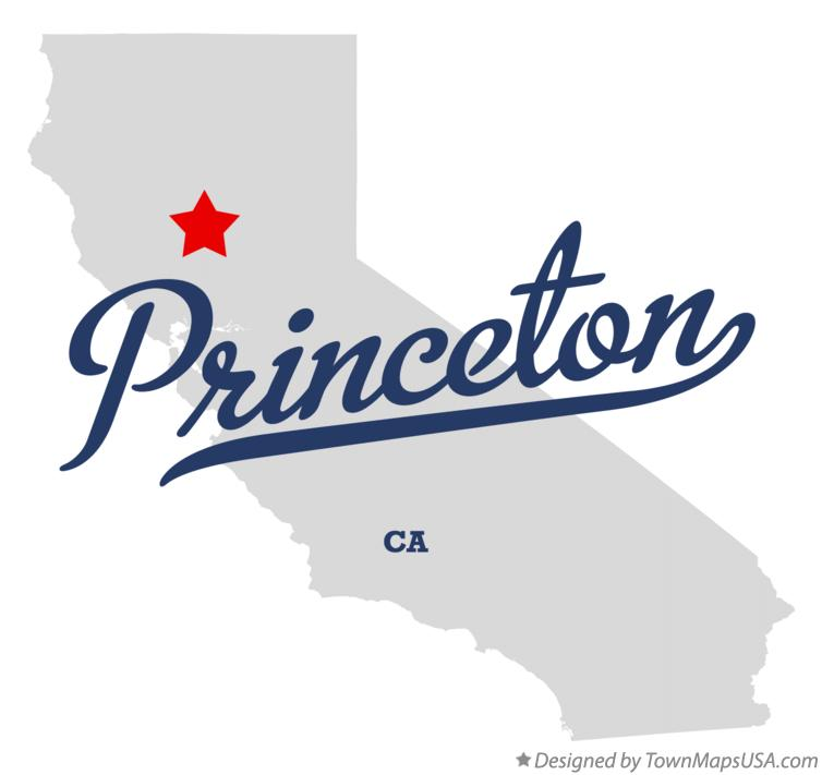 Map of Princeton California CA