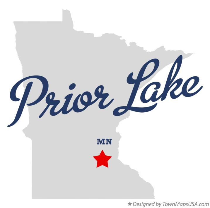 Map of Prior Lake Minnesota MN